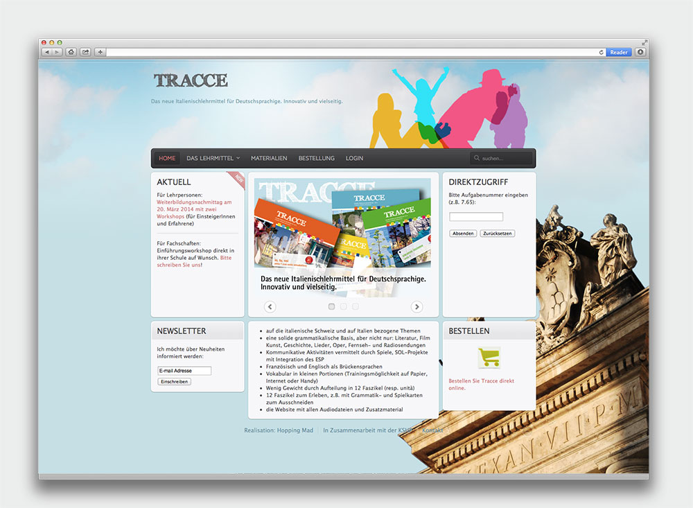 Tracce Website